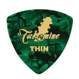 TAKAMINE P1G THIN セルロイド トライアングルピック×10枚