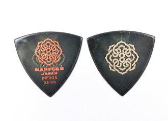 *10張MASTER 8 JAPAN IFS-TR060 INFINIX TRIANGLE HARDGRIP 0.6mm吉他選取