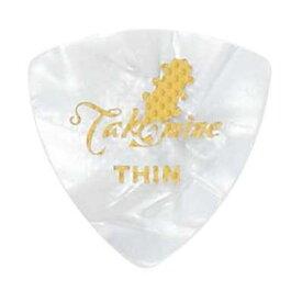 TAKAMINE P1W THIN セルロイド トライアングル ギターピック×10枚