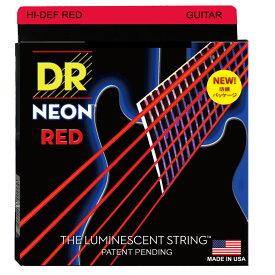 DR NEON HI DEF/E RED MEDIUM NRE-10 エレキギター弦×12セット