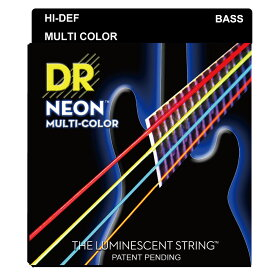 DR NEON MULTI COLOR/B MEDIUM NMCB-45 エレキベース弦×2セット