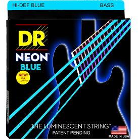 DR NEON HI-DEF BLUE/B MEDIUM NBB-45 エレキベース弦×2セット