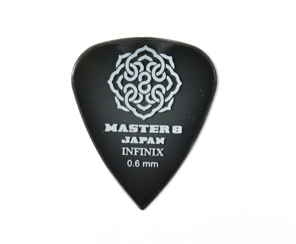 MASTER 8 JAPAN IF-TD060 INFINIX TEARDROP 0.6mm ギターピック×10枚