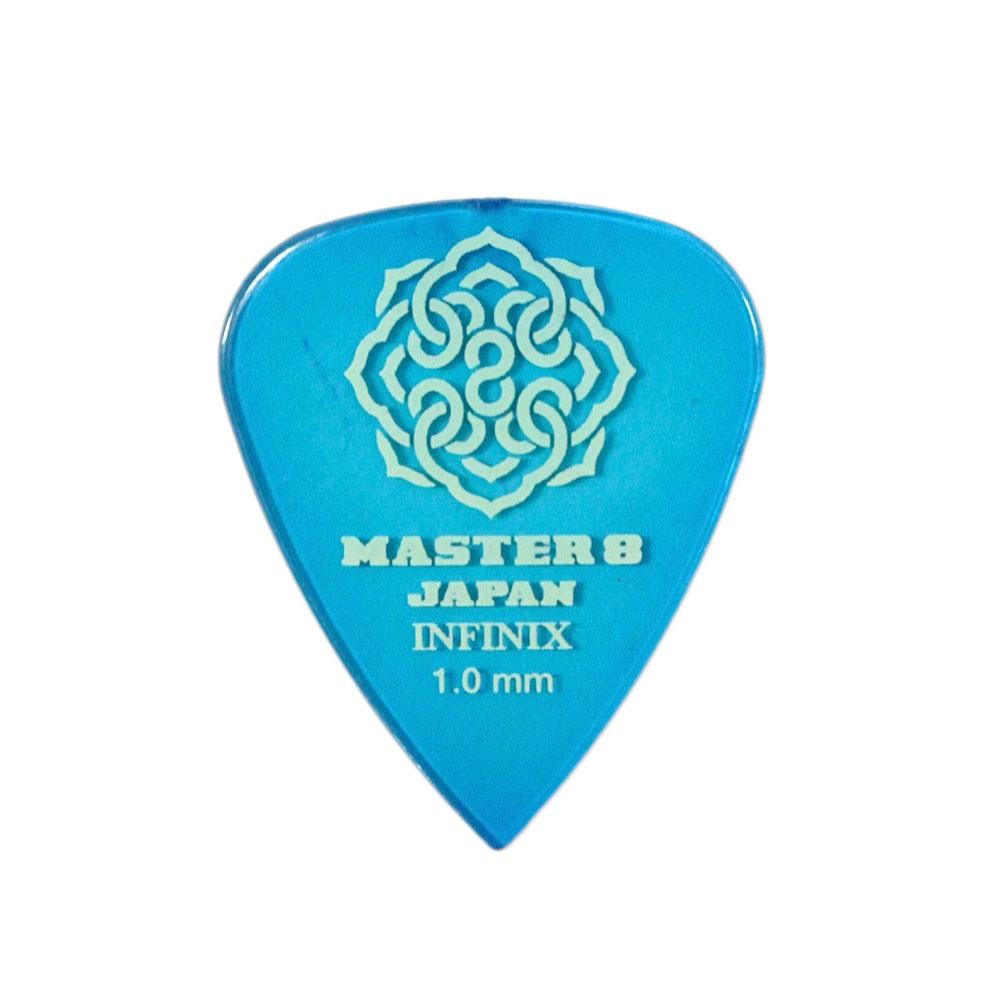 MASTER 8 JAPAN IF-TD100 INFINIX TEARDROP 1.0mm ギターピック×10枚