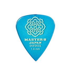 MASTER 8 JAPAN IF-TD100 INFINIX TEARDROP 1.0mm ギターピック×30枚