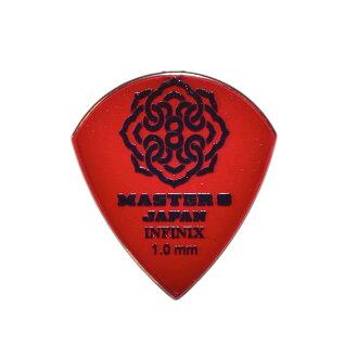 *10 piece of MASTER 8 JAPAN IF-JZ100 INFINIX JAZZ III XL TYPE 1 0mm guitar  pick