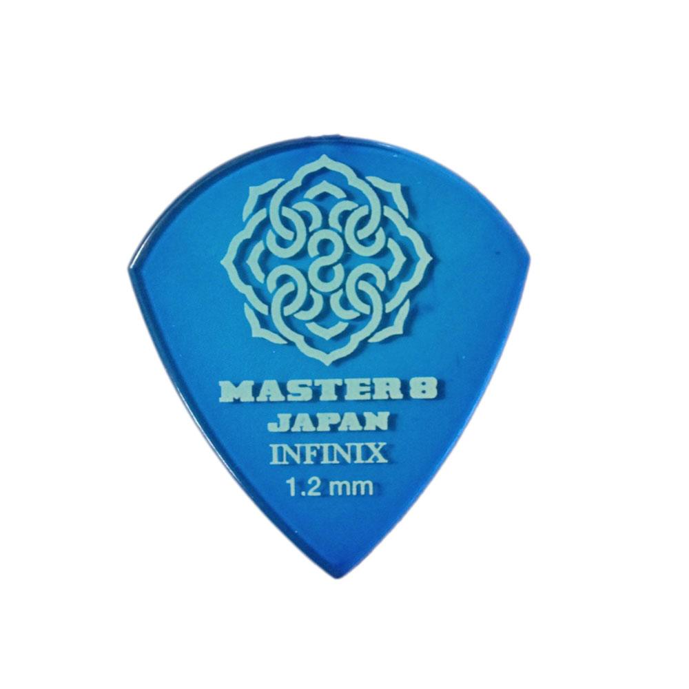 MASTER 8 JAPAN IF-JZ120 INFINIX JAZZ III XL TYPE 1.2mm ギターピック×10枚