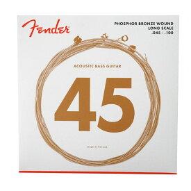 Fender 8060 Acoustic Bass Strings Phosphor Bronze 45-100 アコースティックベース弦×2セット
