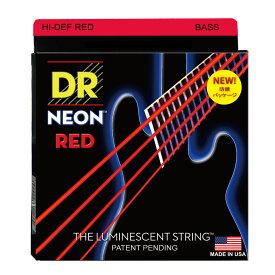 DR NEON Hi-Def RED MEDIUM NRB-45 エレキベース弦×2セット