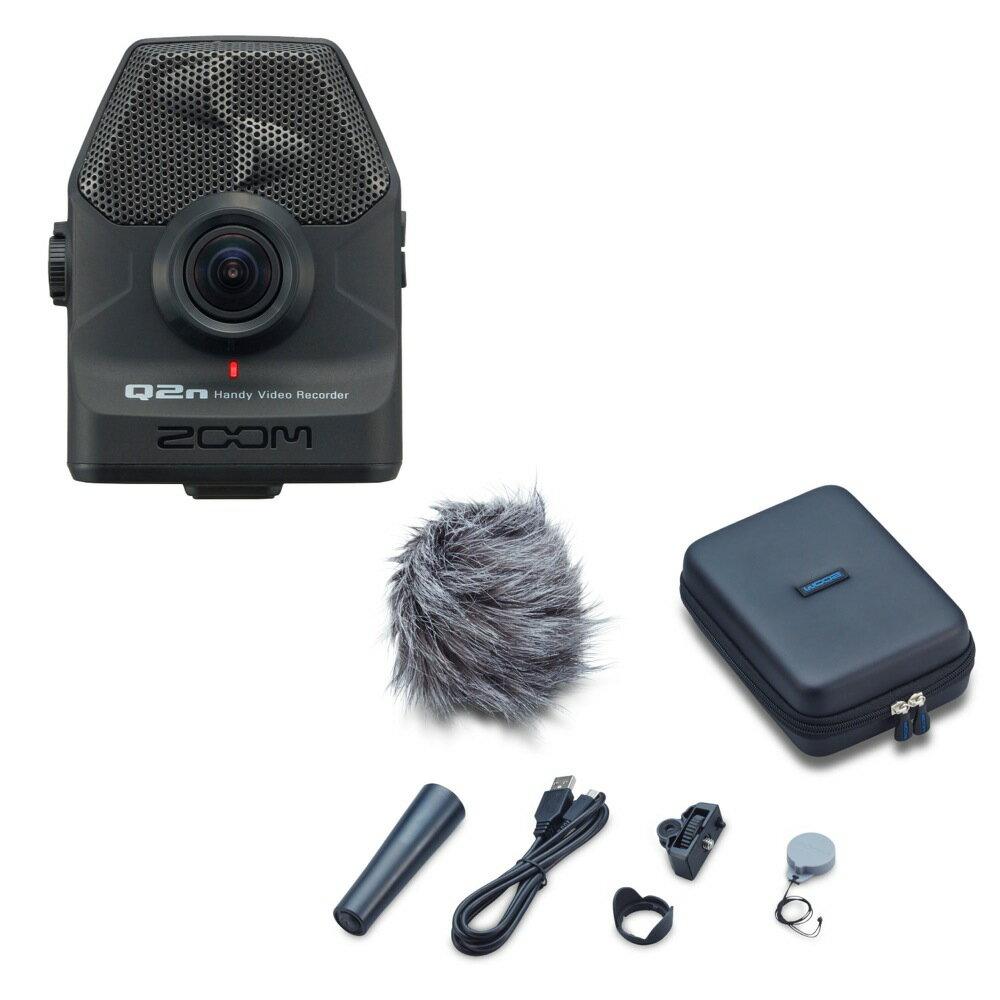 ZOOM Q2n Handy Video Recorder ハンディビデオレコーダー 専用アクセサリーパック APQ-2n 2点セット