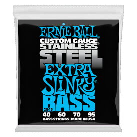 ERNIE BALL 2845/Stainless Extra Slinky Bass ベース弦×2セット