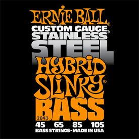 ERNIE BALL 2843/Stainless Hybrid Slinky Bass ベース弦×2セット