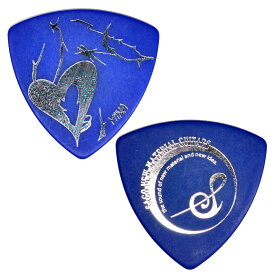 Sago GIRLFRIEND MINAモデル Blue Polyacetal 1.0mm ギターピック×10枚