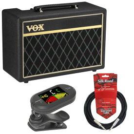 VOX Pathfinder Bass 10 ベースアンプ Flanger クリップチューナー 3mケーブル ベース入門3点セット