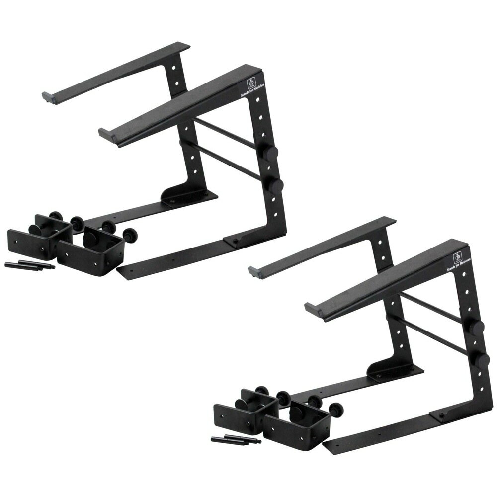 Dicon Audio LPS-002 with clamps LAPTOP STAND ラップトップスタンド×2セット