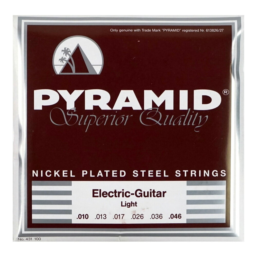 PYRAMID STRINGS EG NPS 010-046 エレキギター弦×3セット