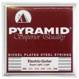 PYRAMID STRINGS EG NPS 009-046일렉트릭 기타현×3 세트