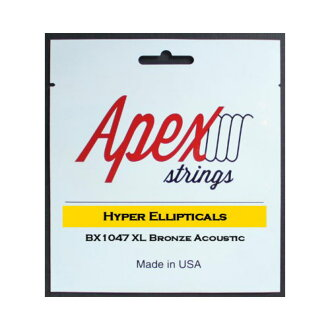 *3套Apex Strings BX1047吉他弦