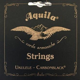 *3 set of AQUILA AQC-TR 143 U Carbonblack Series tenor ukulele string