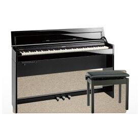 ROLAND DP603-PES Digital Piano 黒塗鏡面艶出し塗装仕上げ 電子ピアノ 高低自在イス&ピアノセッティングマット付き セット 【組立設置無料サービス中】