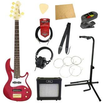 电子吉他基础入门10分安排AriaProII RSB-42AR/5 SPK 5弦电子吉他基础