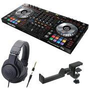 PioneerDDJ-SZ2DJコントローラーAUDIO-TECHNICAATH-M20xヘッドフォンSEELETONヘッドホンハンガー3点セット