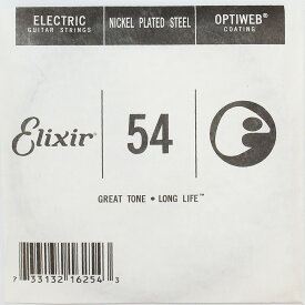 ELIXIR 16254/054 バラ弦×4本 エリクサー オプティウェブ ギター弦