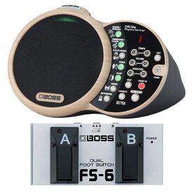 BOSS DR-01S Rhythm Partner リズムパートナー スピーカー内臓リズムボックス BOSS FS-6 フットスイッチ セット