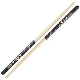 ZILDJIAN LAZLZ5AACD Hickory Series 5A ACORN BLACK DIP ドラムスティック×3セット