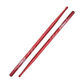 *3套ZILDJIAN LAZLZ5BNR Hickory Series 5A NYLON RED DRUMSTICK鼓槌