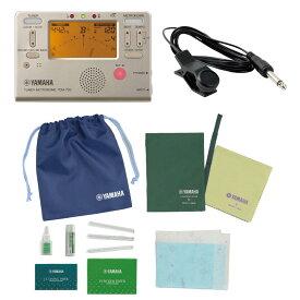 ヤマハ クラリネット用お手入れセット TDM-700G チューナー チューニング用コンタクトマイク付き セット