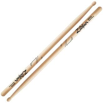*3套ZILDJIAN LAZLZS5B Hickory Series SUPER 5B WOOD NATURAL DRUMSTICK鼓槌