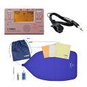 ヤマハ チューバ(ピストン)用お手入れセット TDM-700P チューナー チューニング用コンタクトマイク付き セット