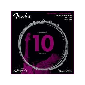 Fender Jimi Hendrix Voodoo Child Ball End Nickel Plated Steel 10-38 エレキギター弦×3セット