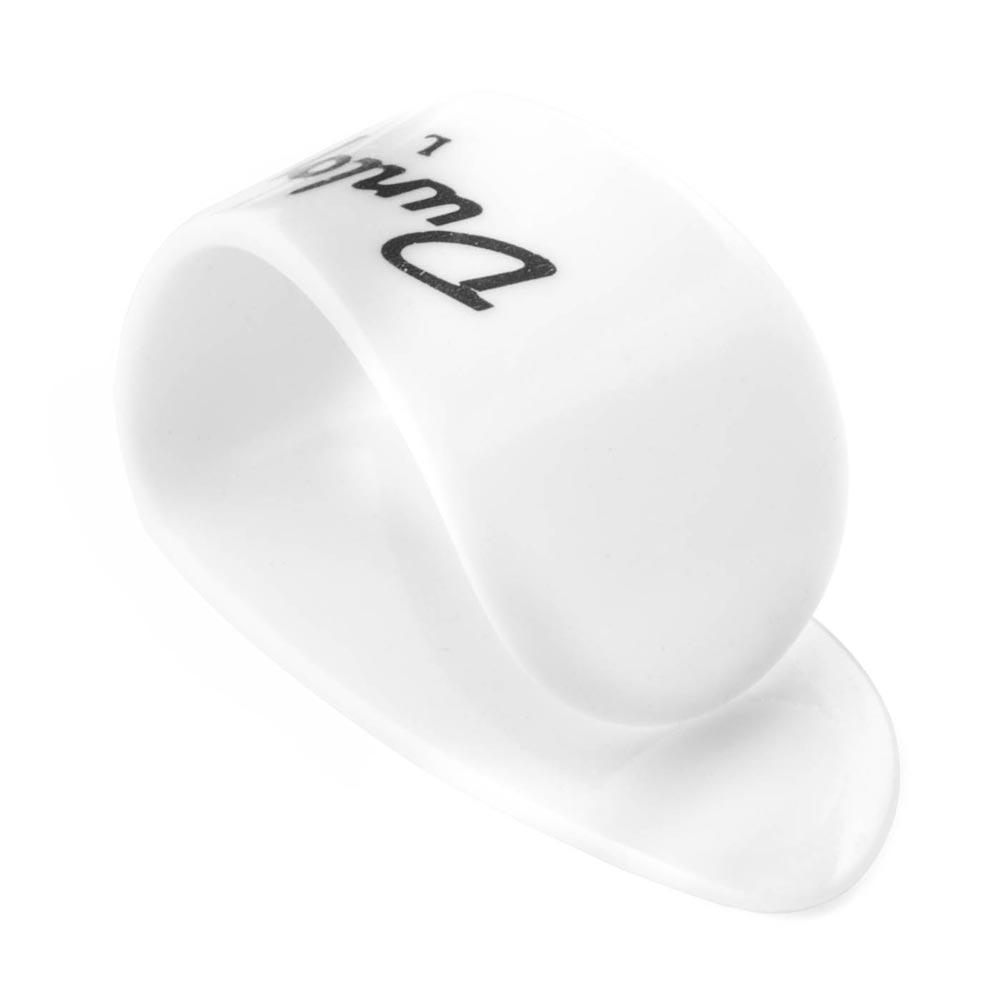 JIM DUNLOP 9003R White Plastic Thumbpicks Large サムピック×12枚