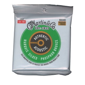 MARTIN MA540S Marquis Silked Phospher Bronze Light アコースティックギター弦×3セット