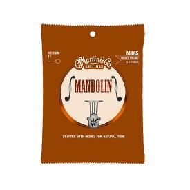 MARTIN M465 Mandolin Monel Wound Medium マンドリン弦×10セット