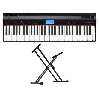 有ROLAND GO-61P GO:PIANO报名键盘钢琴KS-020 X型台灯的安排