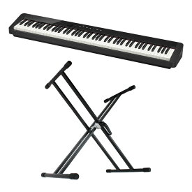 CASIO Privia PX-S1000 BK 電子ピアノ X型スタンド付き セット