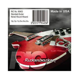 Rickenbacker Strings 95403 for Electric Guitar エレキギター弦×3セット