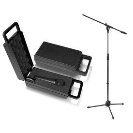 BEHRINGER XM8500 ULTRAVOICE Black ダイナミックマイク Dicon Audio MS-101 ブームマイクスタンド セット