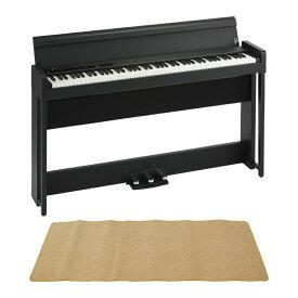 KORG C1 AIR BK 電子ピアノ ピアノマット(クリーム)付きセット