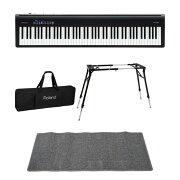ROLANDFP-30BK電子ピアノDiconAudioKS-060スタンドキーボードケースピアノマット(グレイ)付きセット
