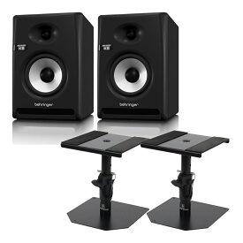 BEHRINGER K5 NEKKST パワードモニタースピーカー Dicon Audio SS-032R 卓上スタンド ペア セット