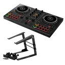 Pioneer DDJ-200 SMART DJ CONTROLLER スマートDJコントローラー ラップトップスタンド付きセット