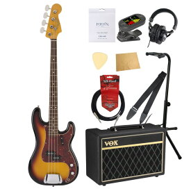 Fender Hama Okamoto Precision Bass Rosewood Fingerboard 3-Color Sunburst エレキベース VOXアンプ付き10点セット