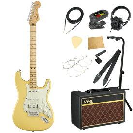 Fender Player Stratocaster MN BCR エレキギター VOXアンプ付き 入門11点セット