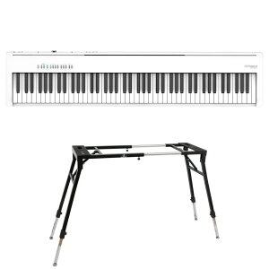 ROLAND FP-30X-WH Digital Piano ホワイト 電子ピアノ キーボードスタンド 2点セット [鍵盤 Dset]