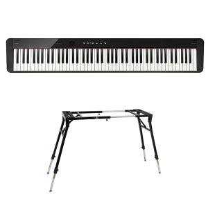 CASIO Privia PX-S1100 BK 電子ピアノ キーボードスタンド 2点セット