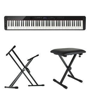 CASIO Privia PX-S3100 BK 電子ピアノ キーボードスタンド キーボードベンチ 3点セット